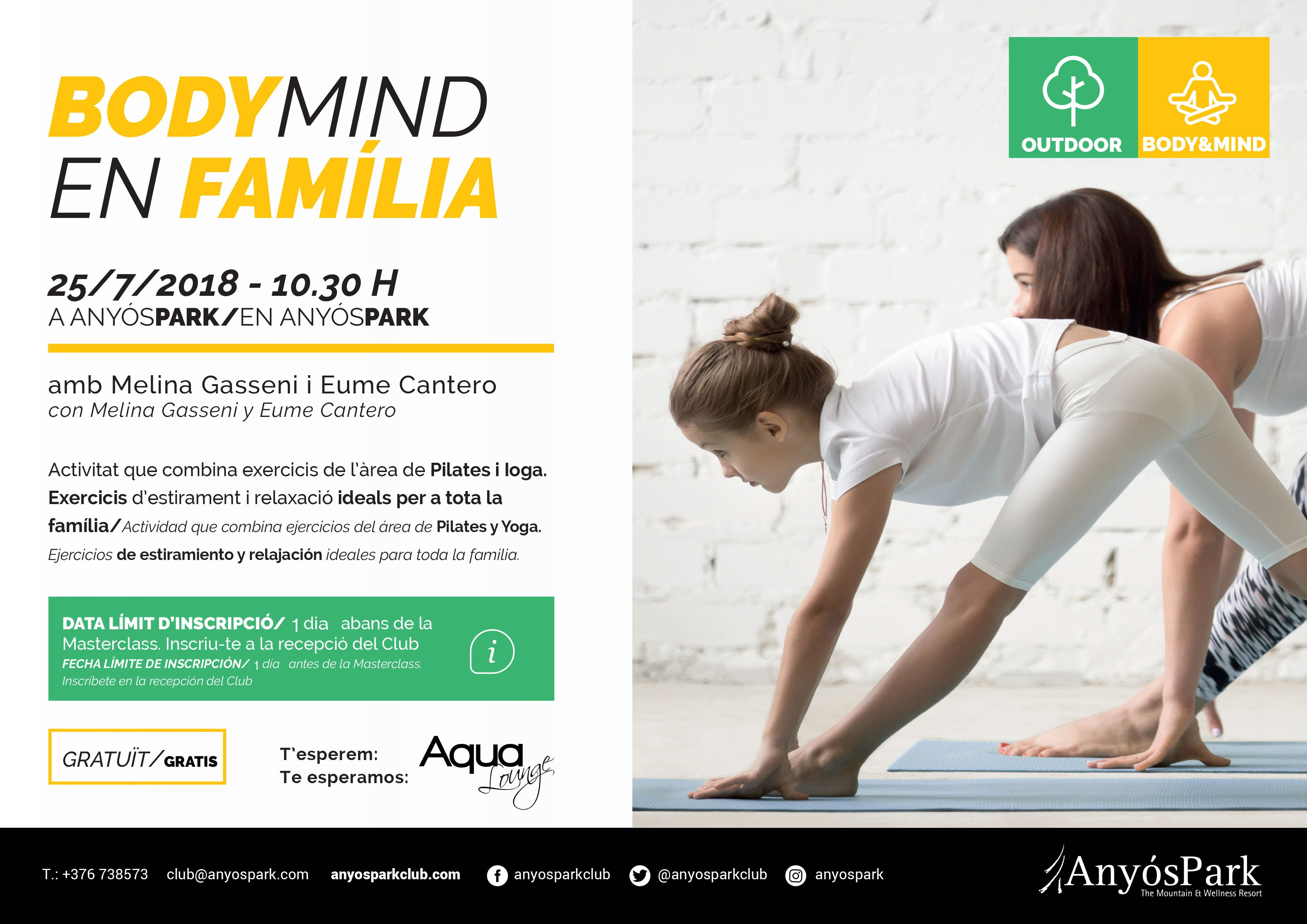 BODY & MIND EN FAMILIA